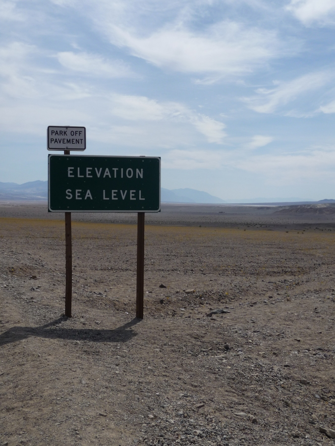 Death Valley Sea Level