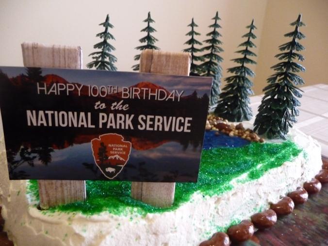 NPS Centennial Cake