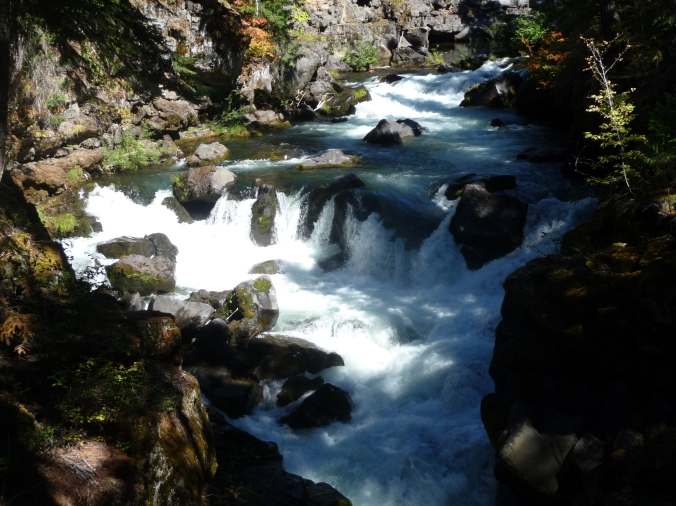 Rogue River at Natural Bridge OR