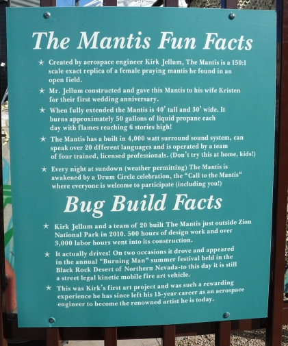 The Mantis Fun Facts