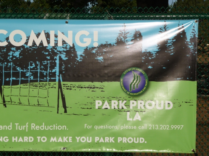 Park Proud Banner Close Up
