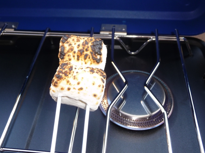 Camp Stove Test: Toasting Marshmallow