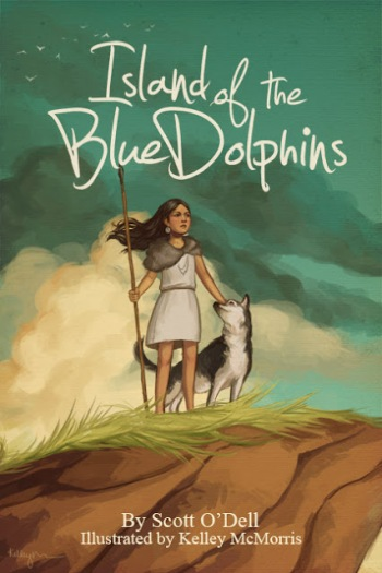 Island of the Blue Dolphins_Kelley McMorris Illustration