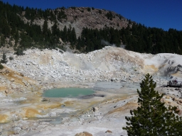 Bumpass Hell Boiling Pool and Mud Pot
