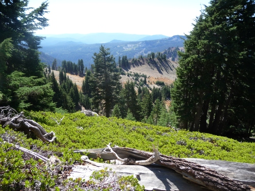 View on trail to Bumpass Hell_1