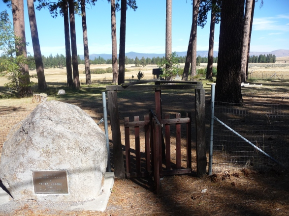 Peter Lassen Cemetery Entrance Gate