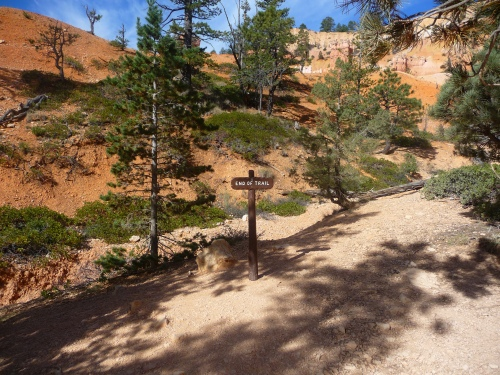 Bryce_Queens Garden Trail_End of Trail