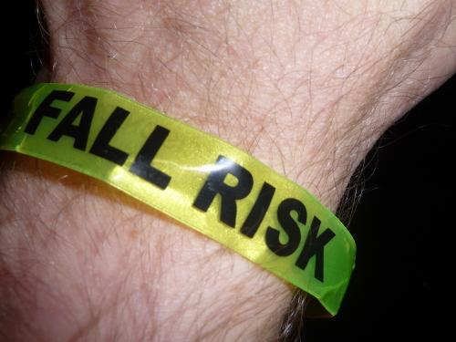 Fall Risk Wristband