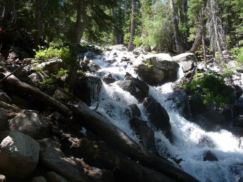 Twin Lakes_CA_Horse Creek Falls_1
