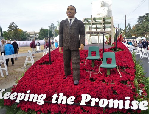Rose Parade Viewing_Keeping the Promise Float_1