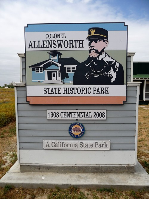 Col Allensworth SHP_Sign