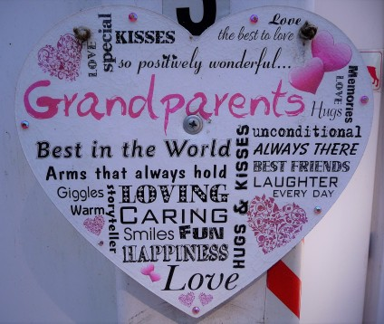 Grandparents Hugs and Kisses
