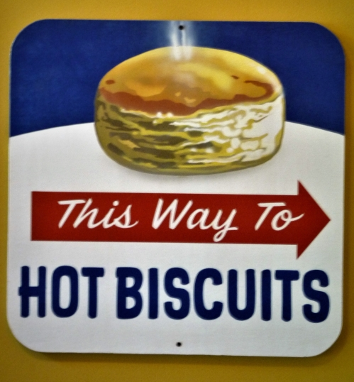 Hot Biscuits Sign
