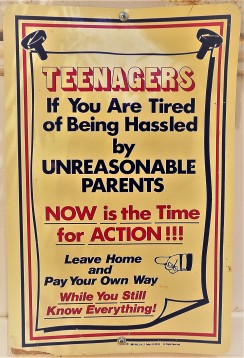Teenagers and Unreasonable Parents