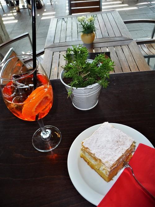 Lake Bled Cream Cake & Aperol Spritz