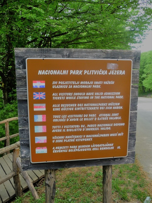 Plitvice_Sign