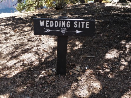 Grand Canyon_Wedding Site_Sign