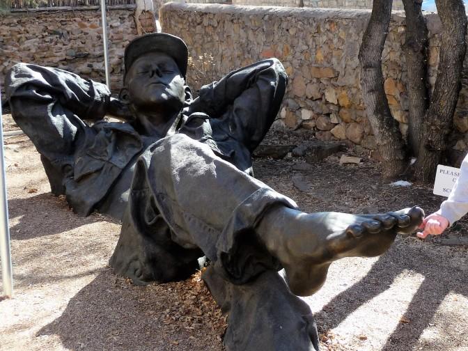 Nap Statue