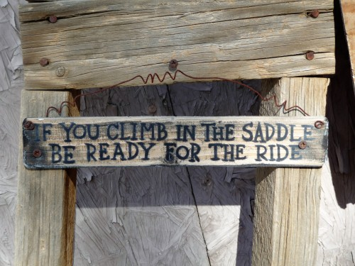 China Ranch_Saddle and Ride Sign