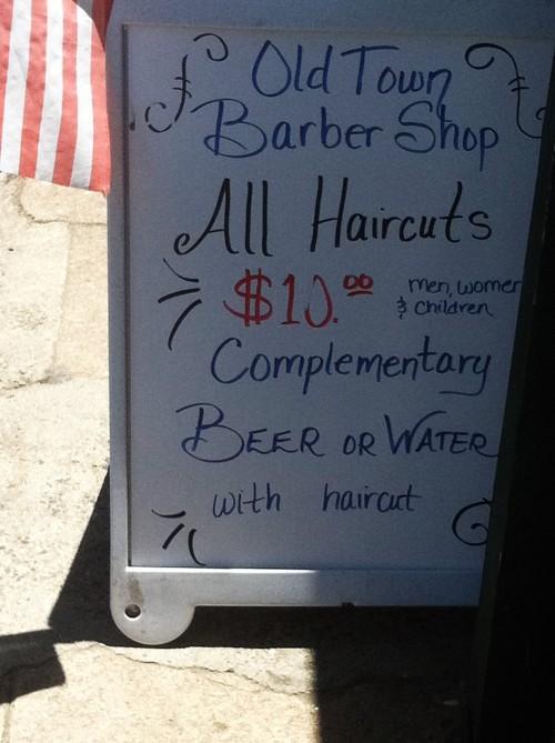 Haircut Deal