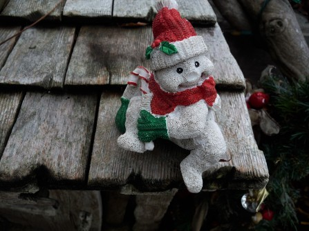 Creepy Snowman Thing