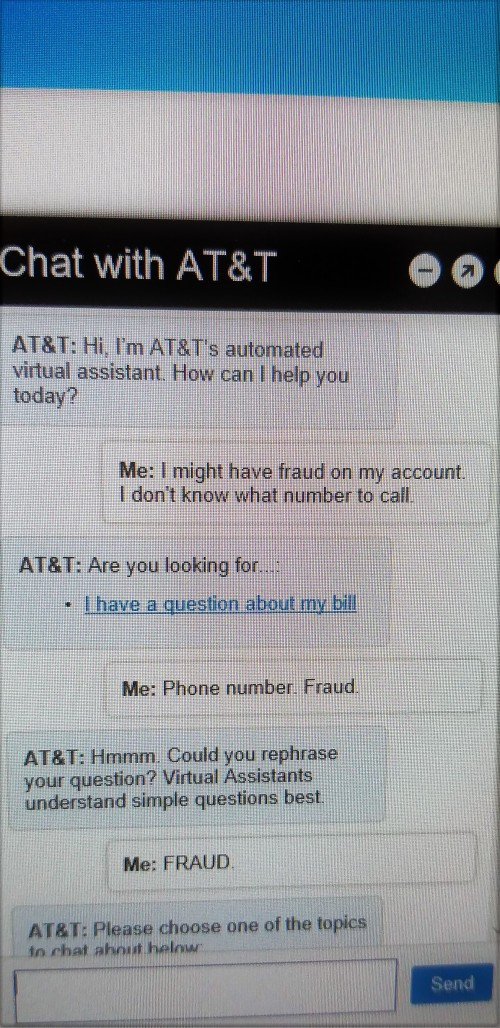 Fraud Chat
