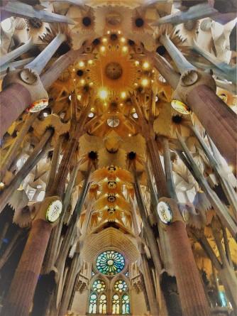 Sagrada Familia Ceiiling_Zeke