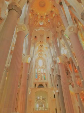 Sagrada Familia Ceiling_Sahara