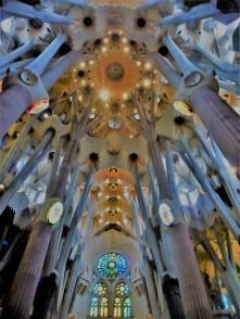 Sagrada Familia Ceiling_Sauna