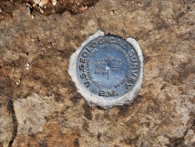 Grand Canyon_Roosevelt Point_Survey Marker