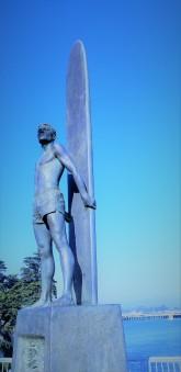 Surfing Sculpture_Blue