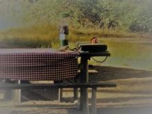 Table Lantern Stove