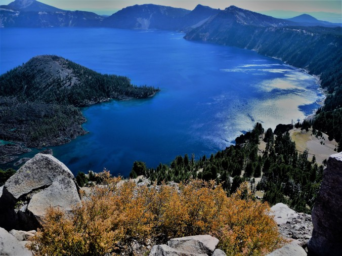 Crater Lake_View From Up High