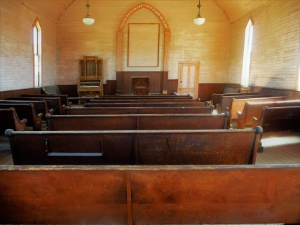 Bodie_Church_Interior_Pulpit
