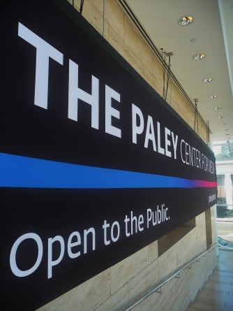 Paley Center_Sign