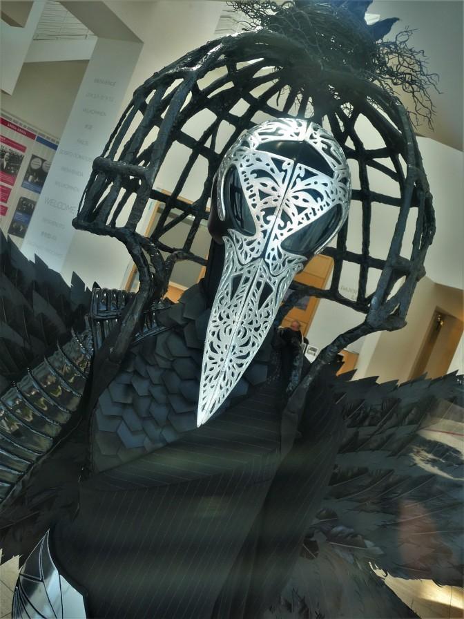 Paley Center_Window Display_Masked Singer_Raven_Direct