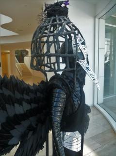 Paley Center_Window Display_Masked Singer_Raven_Interior