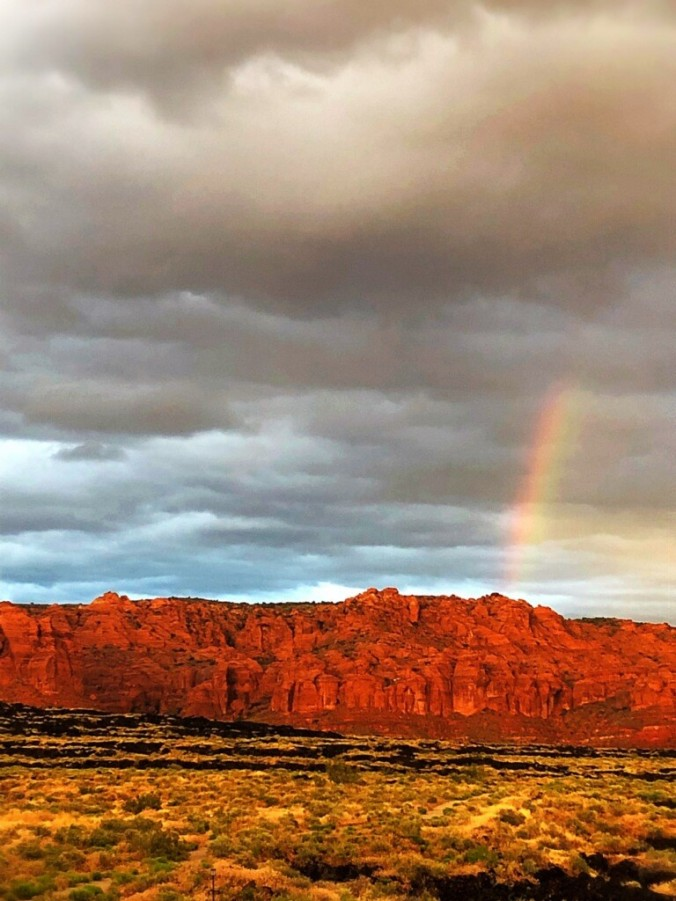 St. George Utah_Rainbow