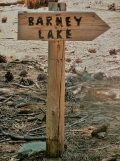 Barney Lake_Sign