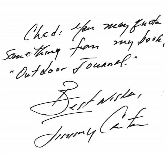Jimmy Carter Response
