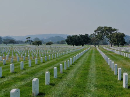 Golden Gate National Cemetery_Headstones
