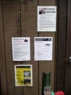Yosemite Warnings