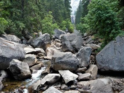 Yosemite_Vernal Falls from Bridge